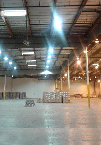 Industrial LED Lights Installation Irvine